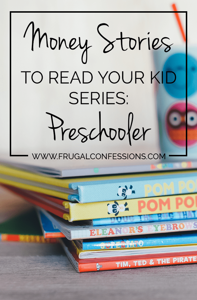 """Ever wonder how to teach your kid about money? Here's a list of books you can read to your preschooler to learn about money. Plus did you know the President has an advisory council on what your child should know by what age to be """"Financially Smart""""? Even for preschoolers! 