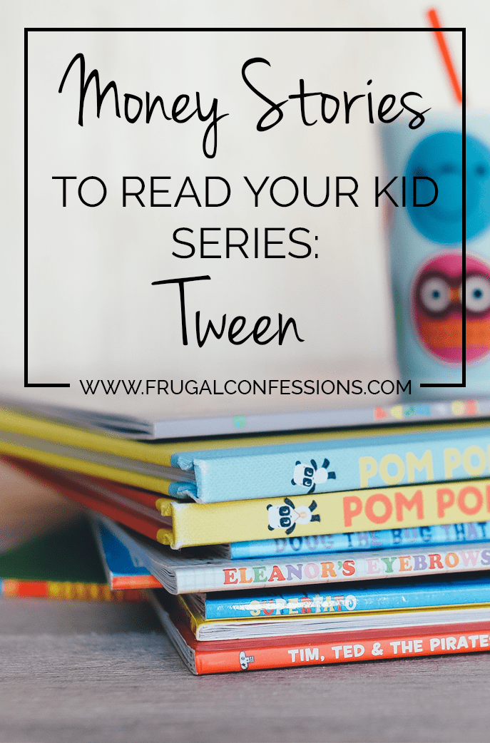 """Ever wonder how to teach your kid about money? Here's a list of books to give your tween to learn about money. Plus did you know the President has an advisory council on what your child should know by what age to be """"Financially Smart""""? Check it out! 