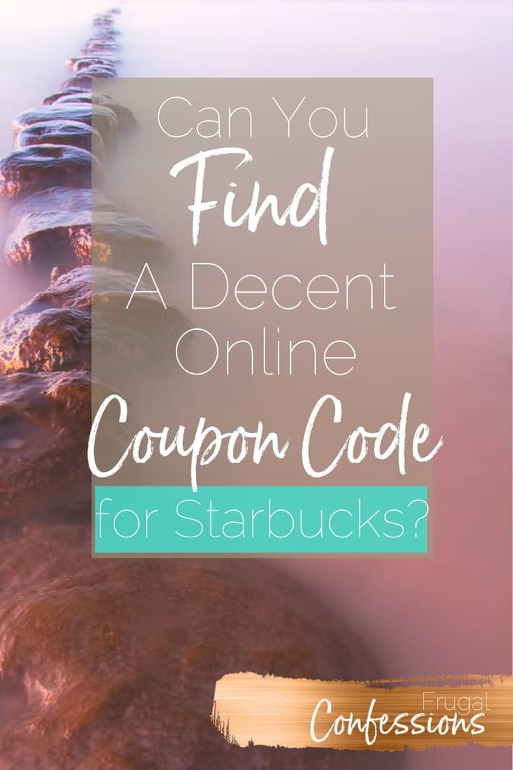 Trying to find Starbucks discounts, hacks, and DIY your morning drinks (because getting it every morning leaves a hole in your monthly cash flow)? I'll show you 4 ways I already find discounts + a new way I found that offers killer online coupon codes you won't find anywhere else. | http://www.frugalconfessions.com/save-beyond-my-means/find-starbucks-discount-via-online-promo-codes.php